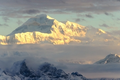 Sunrise on Mt. Denali
