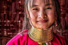 Long Neck Lady, Myanmar