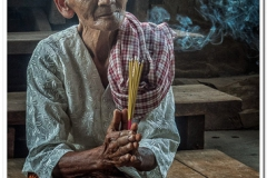 Nun in Cambodia