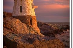 Castle Hill Light Sunset
