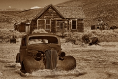 Ghost Town - Bodie CA