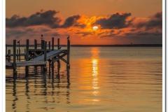 Sunset on Surf City Bay