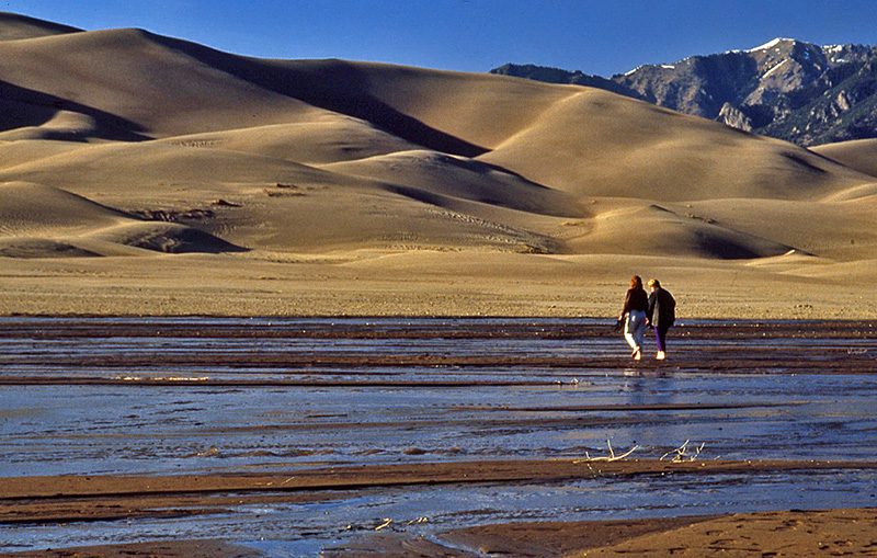 Great Sand Dunes National Park in Colorado No 1