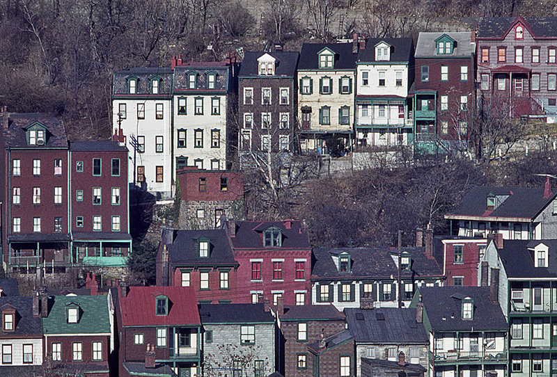Hillside of Houses in Pittsburgh