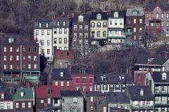 Hillside of Houses in Pittsburgh