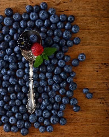 Berries Atop Berries