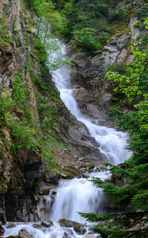Reid Falls, Skagway Alaska