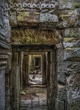Angkor Wat Doorways