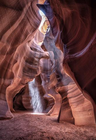 Midday Light Antelope Canyon Arizona